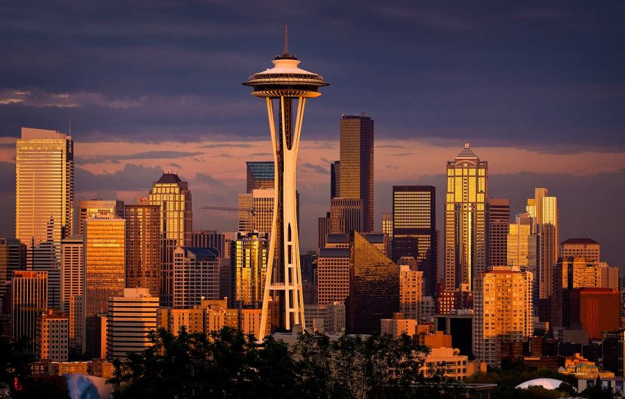 Seattle Skyline by Matthew Gore